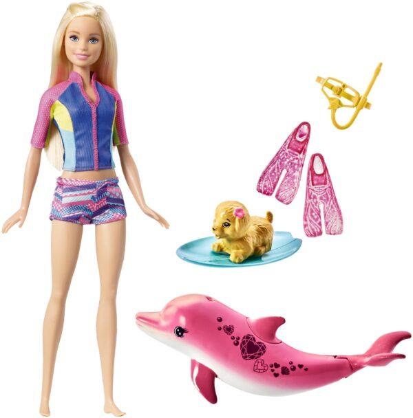Barbie Magia del Delfino Barbie Femmina 12-36 Mesi, 12+ Anni, 3-5 Anni, 5-8 Anni, 8-12 Anni ALTRI