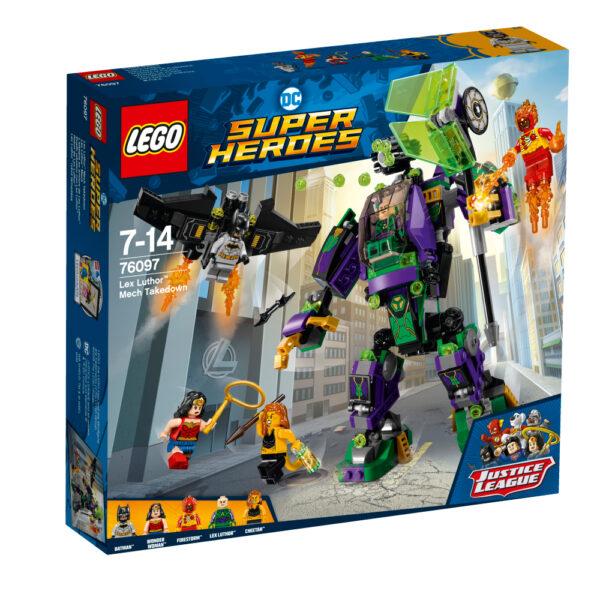 76097 - Duello robotico con Lex Luthor™ - Lego Super Heroes - Toys Center LEGO SUPER HEROES Maschio 12+ Anni, 5-8 Anni, 8-12 Anni ALTRI