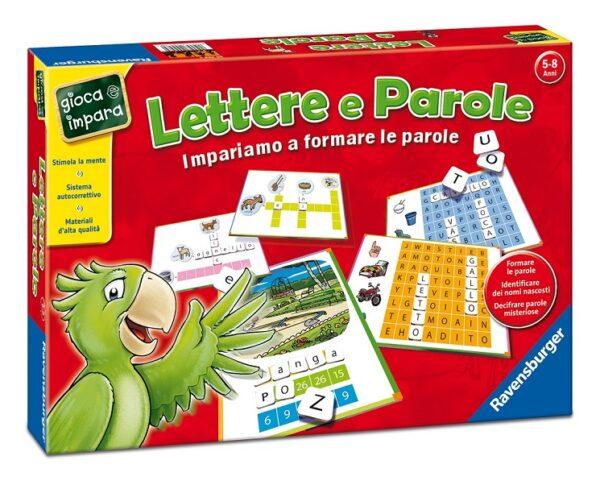 Lettere e Parole GIOCA&IMPARA Unisex 3-5 Anni, 5-7 Anni, 5-8 Anni, 8-12 Anni ALTRI