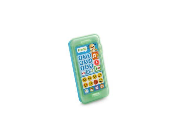 Fisher Price- Smartphone Lascia Un Messaggio, Giocattolo Elettronico Ridi Impara 18-36 Mesi FISHER-PRICE Unisex 12-36 Mesi ALTRI