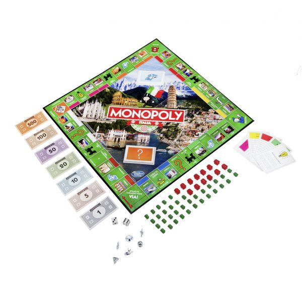 Monopoly Italia - Hasbro Games - Toys Center ALTRI Unisex 12+ Anni, 5-8 Anni, 8-12 Anni HASBRO GAMES