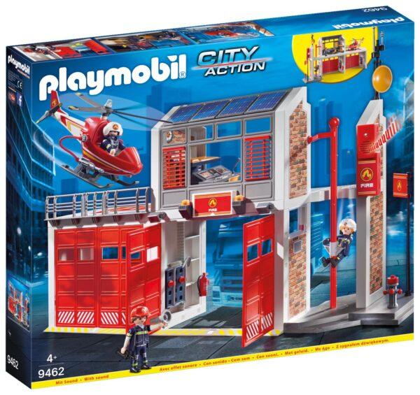 GRANDE CENTRALE DEI VIGILI DEL FUOCO - Playmobil - City Action - Toys Center PLAYMOBIL - CITY ACTION Unisex 12+ Anni, 3-5 Anni, 5-8 Anni, 8-12 Anni ALTRI