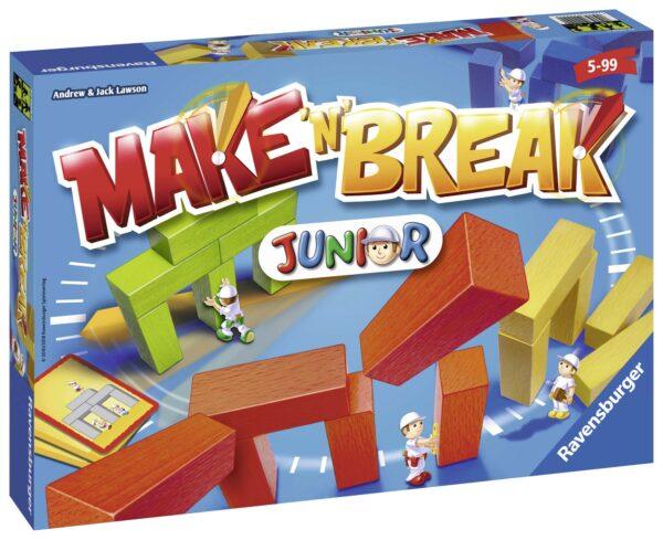 Make'n' Break Junior - Gioco di società Ravensburger 22009 ALTRI Unisex 12+ Anni, 3-5 Anni, 5-8 Anni, 8-12 Anni RAVENSBURGER CLASSIC