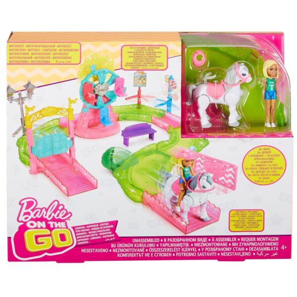 ALTRI Barbie Barbie parti e vai - Parti e Vai Luna Park, bambola e pony inclusi e pezzi componibili - FHV70 12+ Anni, 3-5 Anni, 5-8 Anni, 8-12 Anni Femmina