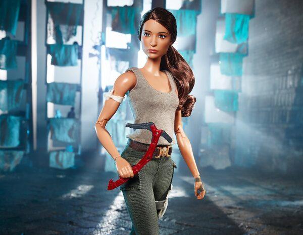 Barbie collectors - Tomb Raider Lara Croft, dal nuovo film di Tomb Raider, da collezione - FJH53 Barbie Femmina 12+ Anni ALTRI