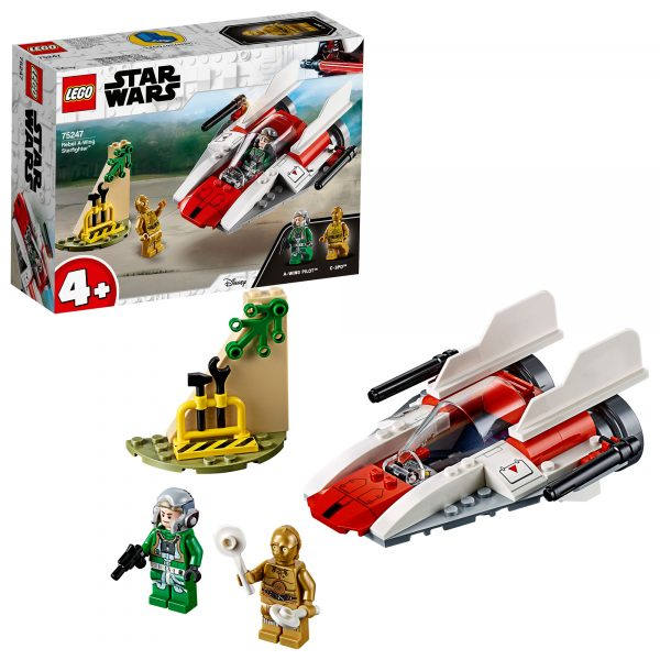 75247 - Rebel A-Wing Starfighter™ Disney Unisex 12+ Anni, 3-5 Anni, 5-8 Anni, 8-12 Anni Star Wars