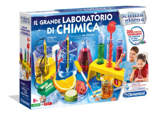 CLEMENTONI - 13912 - Il Grande Laboratorio di Chimica - Età - FOCUS / SCIENZA&GIOCO - Giochi educativi, musicali e scientifici