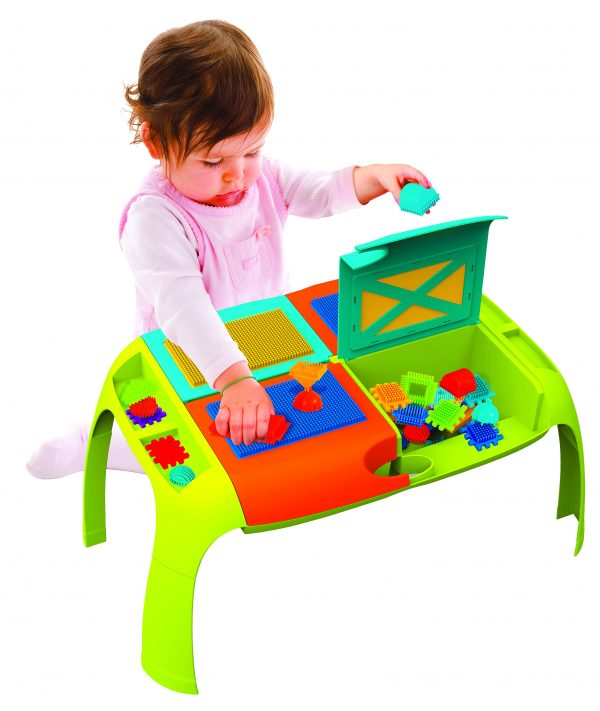 BUILDER TABLE - Toys Center - Toys Center BLOCKID Unisex 0-12 Mesi, 12-36 Mesi, 3-5 Anni TOYS CENTER