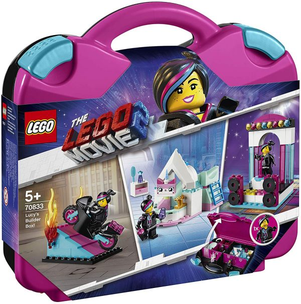 70833 - La scatola delle costruzioni di Lucy! - The LEGO Movie 2 - LEGO - Marche ALTRO Unisex 12+ Anni, 3-5 Anni, 5-8 Anni, 8-12 Anni THE LEGO MOVIE 2