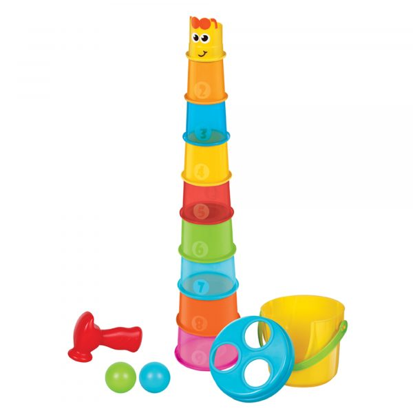 TORRE GIRAFFA CON PALLINE - B-kids - Toys Center B-KIDS Unisex 0-12 Mesi ALTRI