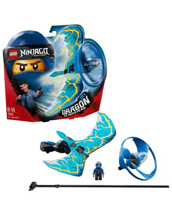 LEGO NINJAGO ALTRI 70646 - Jay - Maestro dragone - Lego Ninjago - Toys Center Unisex 12+ Anni, 5-8 Anni, 8-12 Anni