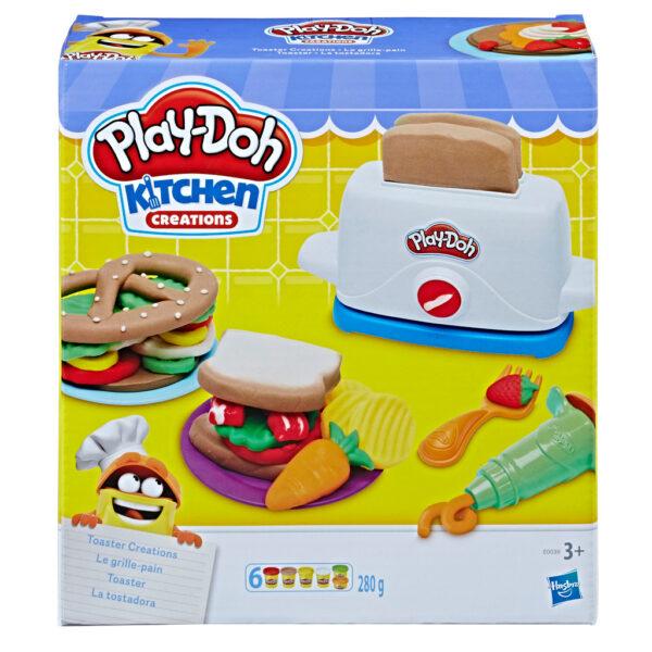 Play-Doh – Il tostapane - PLAY-DOH - Kit artistici e pittura
