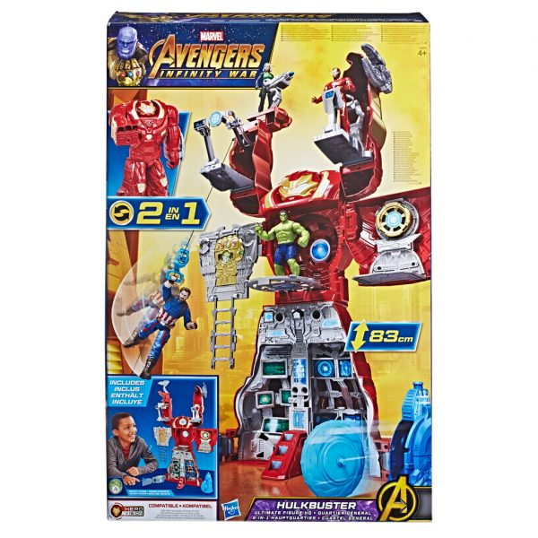 Marvel Avengers - Hulkbuster Playset - Marvel - Toys Center - Marvel - Playset e accessori per personaggi d'azione