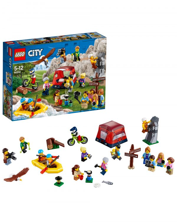 LEGO People Pack - Avventure all'aria aperta - 60202 LEGO CITY Unisex 12+ Anni, 5-8 Anni, 8-12 Anni ALTRI