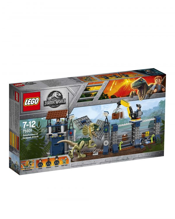 75931 - Attacco all'avamposto del Dilofosauro - LEGO JURASSIC WORLD - LEGO - Marche - ALTRO - Costruzioni
