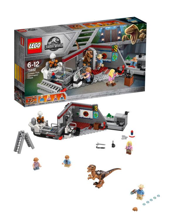 75932 - Inseguimento del Velociraptor a Jurassic Park - LEGO JURASSIC WORLD - LEGO - Marche - ALTRO - Costruzioni