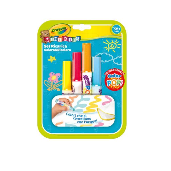 Ricarica Colora&Ricolora Color Pop Crayola CRAYOLA Unisex 12-36 Mesi, 3-5 Anni, 5-8 Anni ALTRI