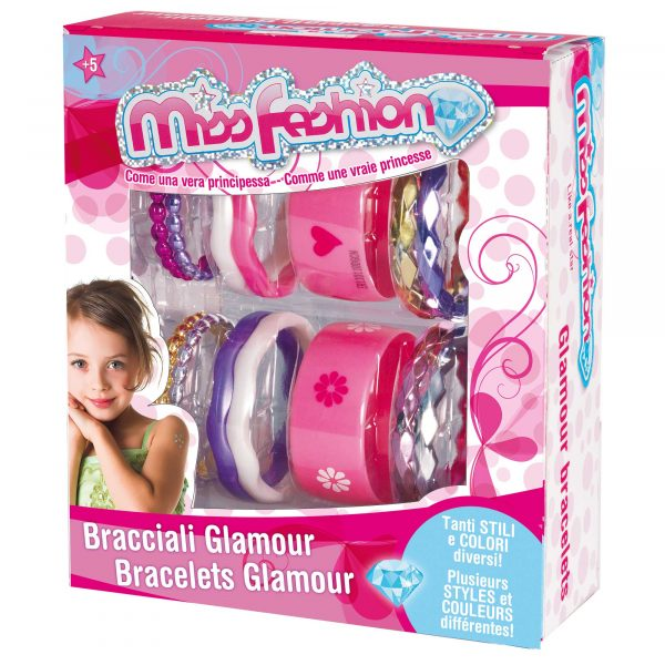 MISS FASHION BRACCIALETTI 18MD MISS FASHION Femmina 12-36 Mesi, 3-4 Anni, 3-5 Anni, 5-7 Anni, 5-8 Anni ALTRI