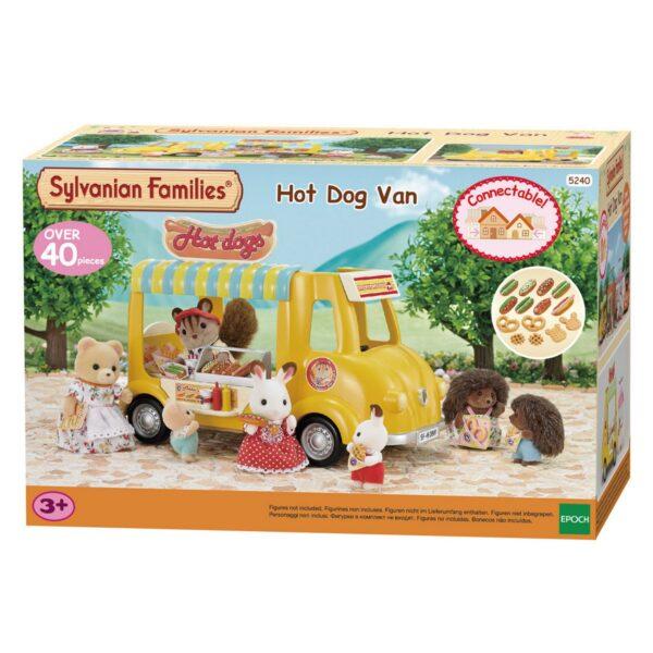 Sylvanian Families - Furgoncino degli hot dog SYLVANIAN FAMILIES Femmina 12-36 Mesi, 3-4 Anni, 3-5 Anni, 5-7 Anni, 5-8 Anni, 8-12 Anni ALTRI