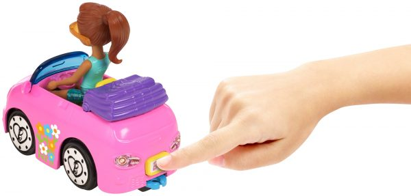 Barbie parti e vai - Parti e Vai Autolavaggio, bambola e veicolo inclusi e pezzi componibili - FHV91 - Barbie - Fashion dolls