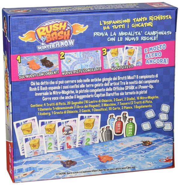Rush & Bash – Winter is Now! - Altro - Toys Center ALTRI Unisex 12+ Anni, 5-8 Anni, 8-12 Anni ALTRO