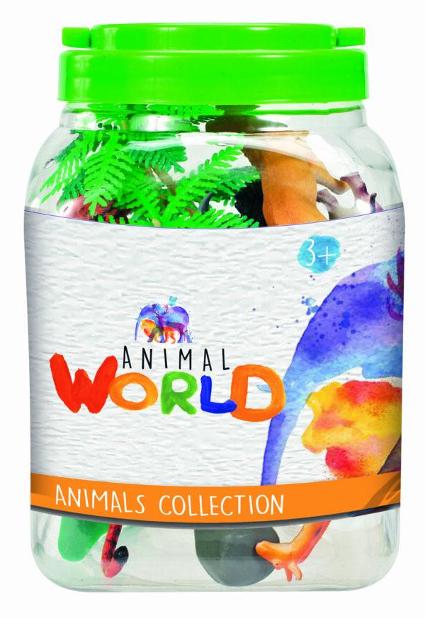 ANIMAL WORLD Barattolo animali ANIMAL WORLD Unisex 0-12 Mesi, 12-36 Mesi, 3-5 Anni, 5-8 Anni ALTRI