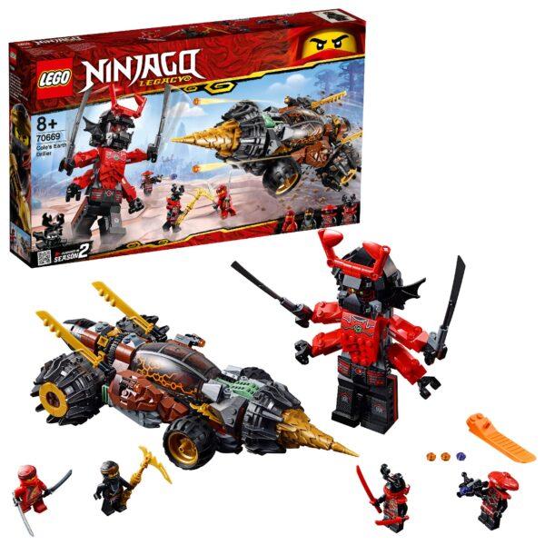 70669 - La trivellatrice di Cole LEGO NINJAGO Unisex 12+ Anni, 5-8 Anni, 8-12 Anni ALTRI