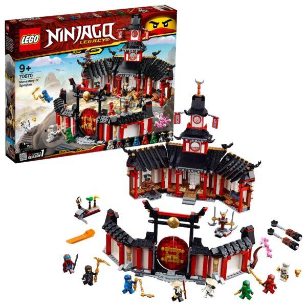 70670 - Il Monastero Spinjitzu LEGO NINJAGO Unisex 12+ Anni, 8-12 Anni ALTRI
