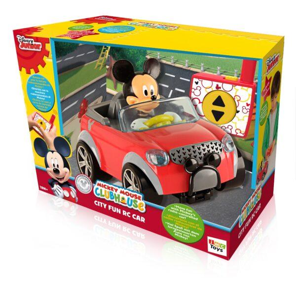 La nuova auto RC con personaggio Disney Maschio 12-36 Mesi, 3-5 Anni TOPOLINO&CO.