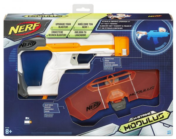 Modulus Strike N Defend - Nerf - Toys Center NERF Maschio 12+ Anni, 5-8 Anni, 8-12 Anni ALTRI