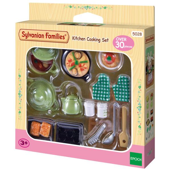 Set da cucina SYLVANIAN FAMILIES Femmina 12-36 Mesi, 3-4 Anni, 3-5 Anni, 5-7 Anni, 8-12 Anni ALTRI