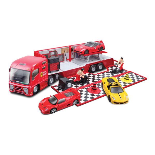 MAC DUE BBURAGO - RACE & PLAY BISARCA E OFFICINA 1:43 - MAC DUE - Marche - FERRARI - Set di veicoli e accessori