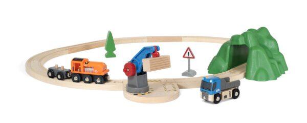 BRIO Starter Set carica e trasporta - Brio Set Ferrovia - Toys Center BRIO SET FERROVIA Unisex 12-36 Mesi, 3-5 Anni, 5-8 Anni, 8-12 Anni ALTRI