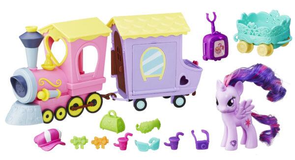 MY LITTLE PONY ALTRI Treno dei My Little Pony Femmina 12-36 Mesi, 3-4 Anni, 3-5 Anni, 5-7 Anni