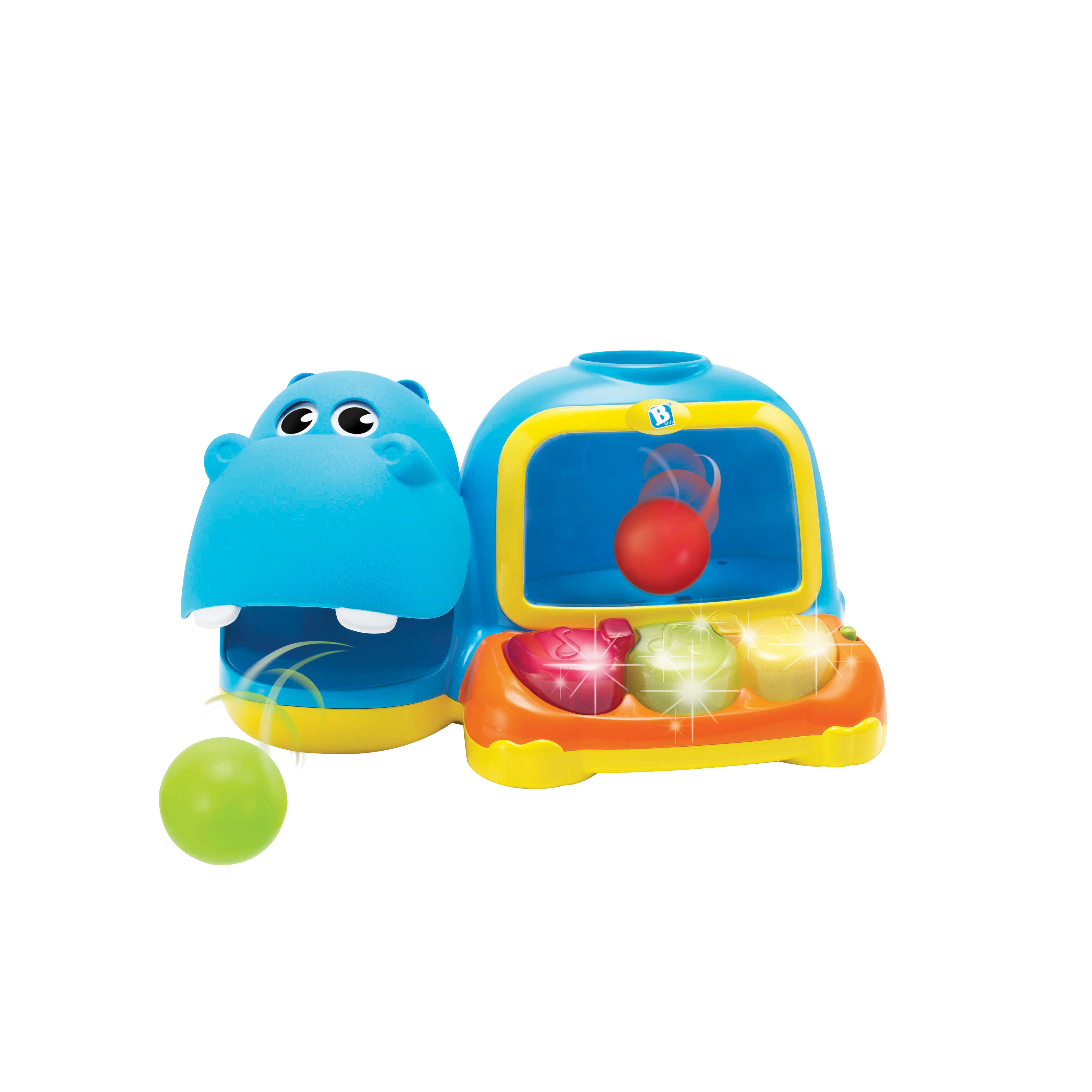 Bkids hippo gioca con le paline - B-KIDS