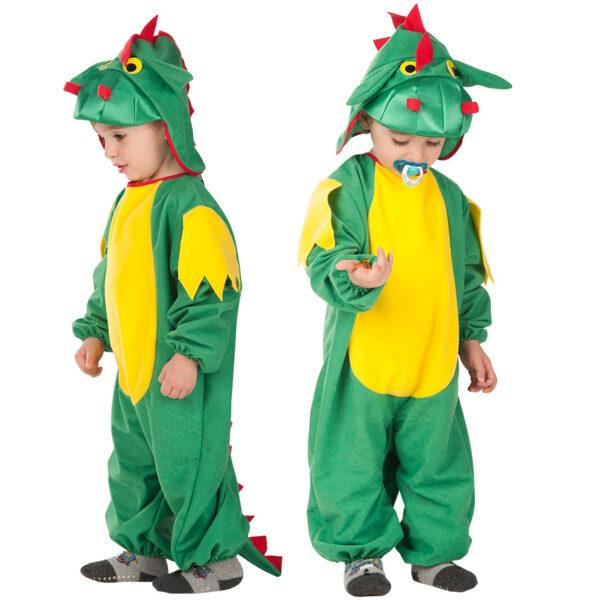 Costume draghetto baby 1-2 anni ALTRO Unisex 12-36 Mesi, 12+ Anni, 3-5 Anni, 5-8 Anni, 8-12 Anni ALTRI