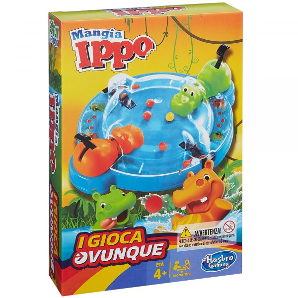 Mangia Ippo Travel HASBRO GAMING Unisex 3-5 Anni, 5-8 Anni ALTRI