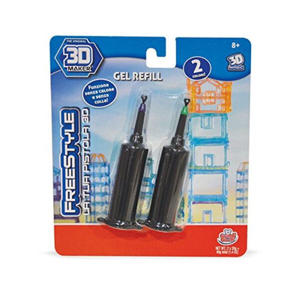 Refil Pistola 3D - Altro - Toys Center ALTRO Unisex 12+ Anni, 5-8 Anni, 8-12 Anni ALTRI