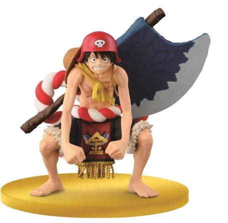 ONE PIECE Gold Figure Luffy - BANDAI - Marche - BANPRESTO - Action figures