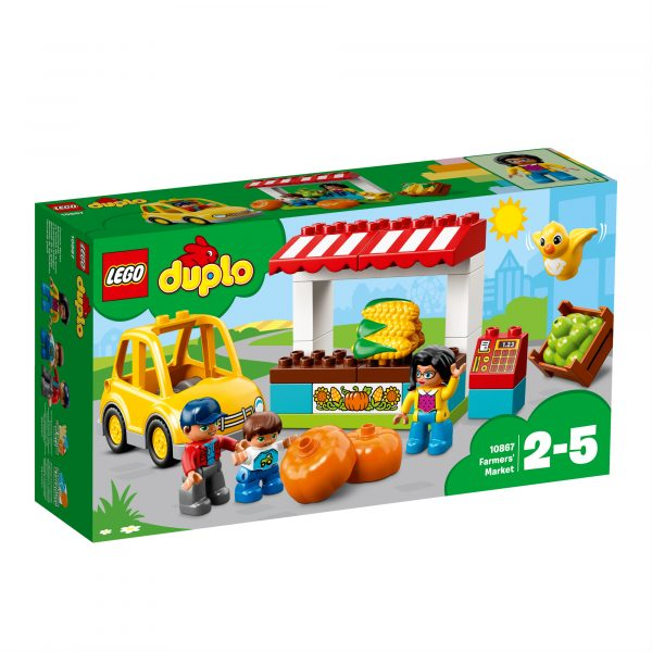10867 - Il mercatino biologico - Lego Duplo - Toys Center ALTRI Unisex 12-36 Mesi, 3-5 Anni, 5-8 Anni LEGO DUPLO