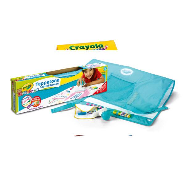 Tappetone Colora&Ricolora Crayola ALTRI Unisex 12-36 Mesi, 3-5 Anni, 5-8 Anni CRAYOLA