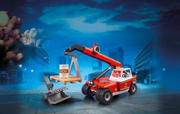 VEICOLO CON BRACCIO TELESCOPICO - Playmobil - City Action - Toys Center - PLAYMOBIL - CITY ACTION - Costruzioni