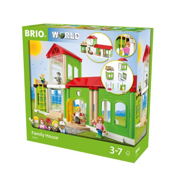 BRIO playset casa BRIO Unisex 12-36 Mesi, 3-4 Anni, 3-5 Anni, 5-7 Anni, 5-8 Anni ALTRI