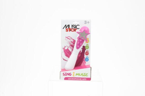 MUSIC STAR Microfono karaoke da bambina MUSICSTAR Femmina 12-36 Mesi, 12+ Anni, 3-5 Anni, 5-7 Anni, 5-8 Anni, 8-12 Anni MUSIC STAR