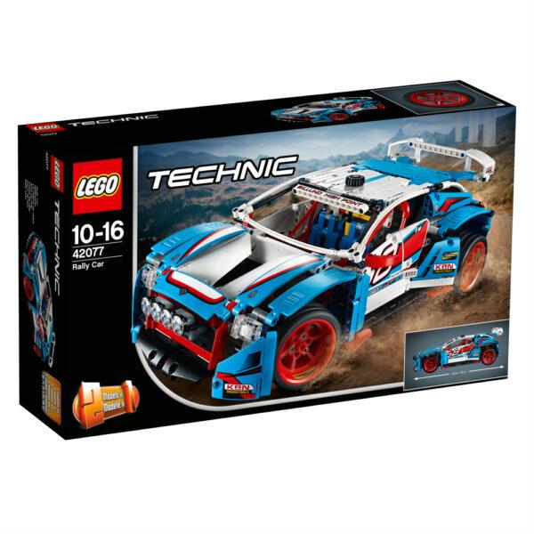 42077 - Auto da rally - Età LEGO TECHNIC Maschio 12+ Anni, 8-12 Anni ALTRI