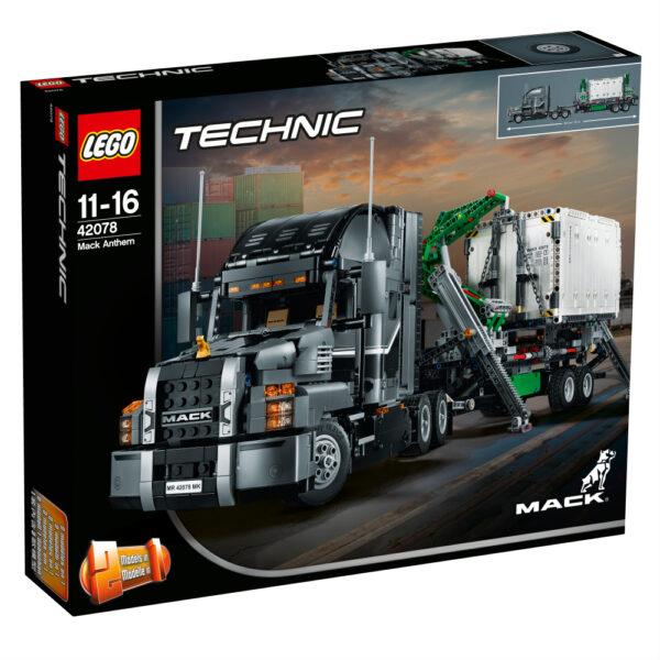 LEGO TECHNIC - Mack® Anthem™ - 42078 LEGO TECHNIC Maschio 12+ Anni, 8-12 Anni ALTRI