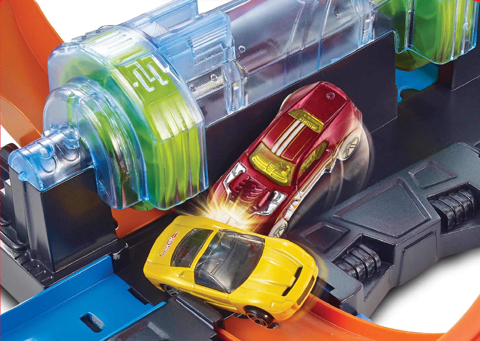 Hot wheels - playset schianti rotanti -