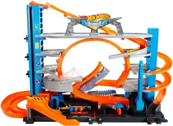 Hot Wheels - garage delle Acrobazie - Hot Wheels - Toys Center Hot Wheels Maschio 8-12 Anni ALTRI