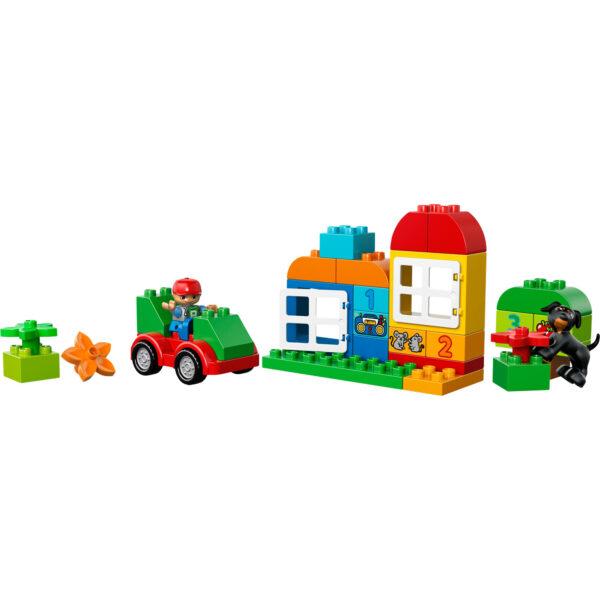 10572 - LEGO® DUPLO® Scatola costruzioni Tutto-i ALTRI Unisex 0-2 Anni, 12-36 Mesi, 3-4 Anni, 3-5 Anni, 5-8 Anni LEGO DUPLO