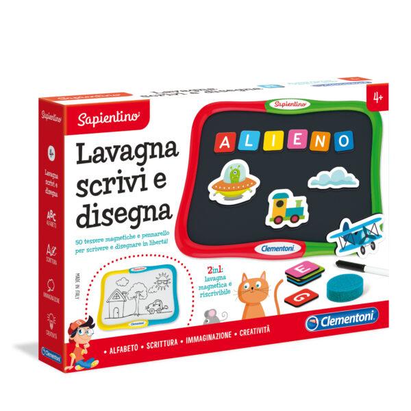 LAVAGNA SCRIVI E DISEGNA - Sapientino - Toys Center SAPIENTINO Unisex 3-5 Anni, 5-8 Anni ALTRI
